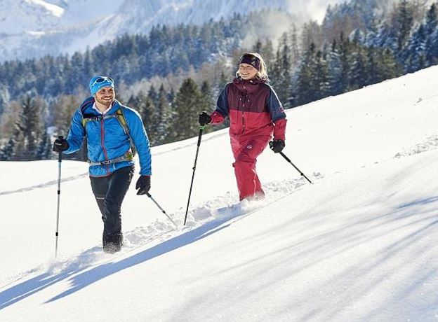 Guided Snowshoe Tours with BergAKTIV