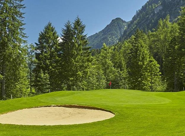 Herrennachmittag-Alpin Golf in Brand