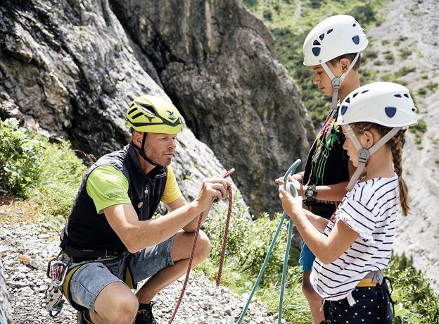 Fallbach Klettersteig Vorarlberg : Geführte klettersteigtour am fallbach