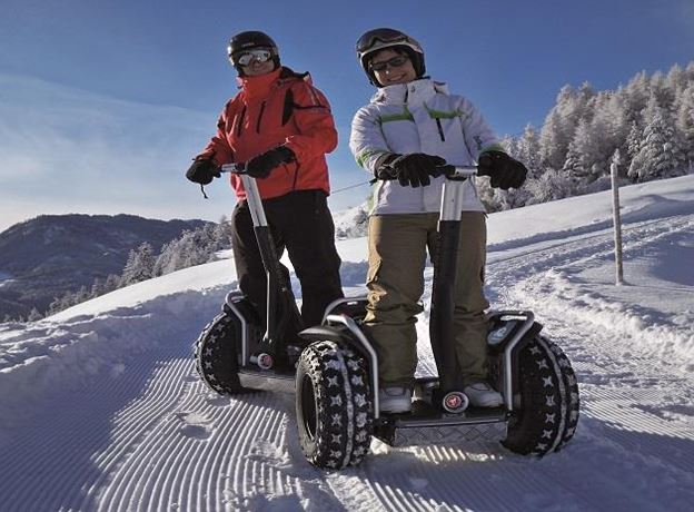 Segway on Snow