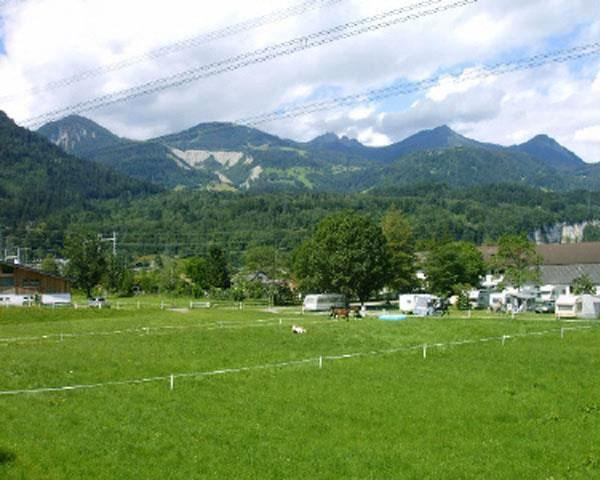Auhof Camping im Sommer