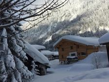 Annas Lodge im Winter
