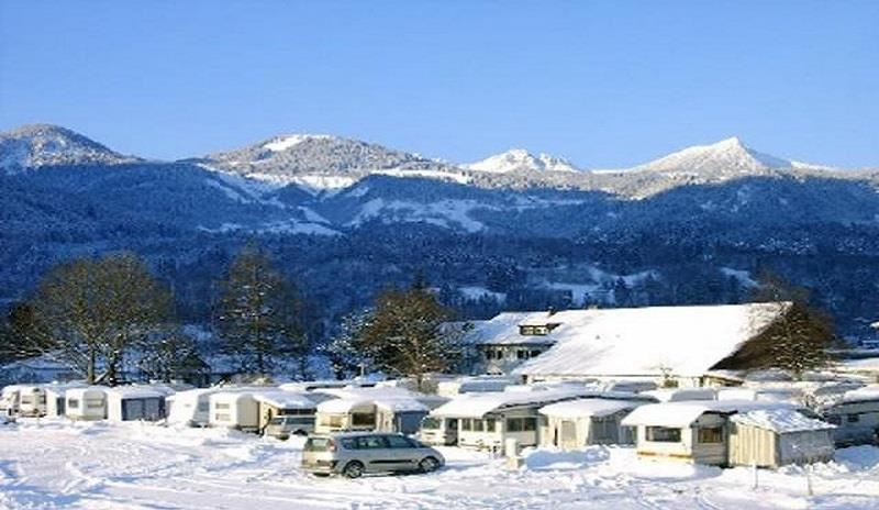 Auhof Camping Winter