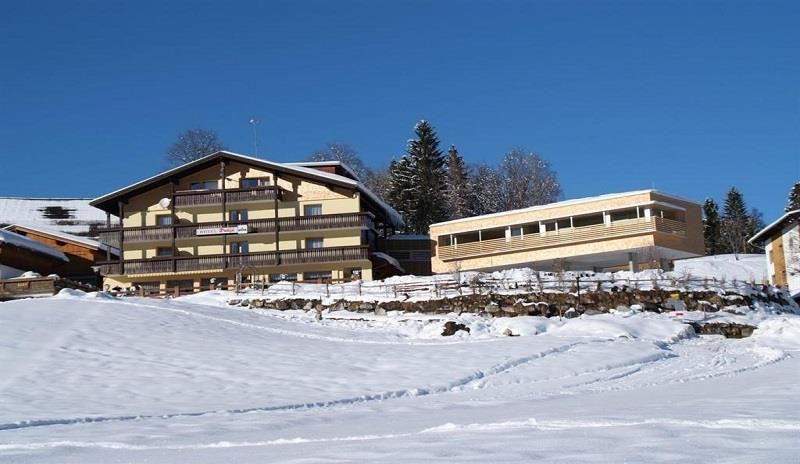 Hotel Dunza im Winter