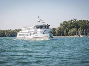 Boat trip on Lake Constance