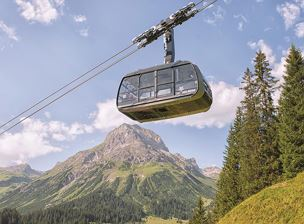 Lech-Oberlech Cable Car