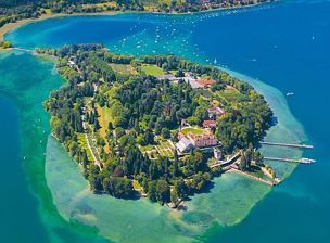 Flower islands of Mainau