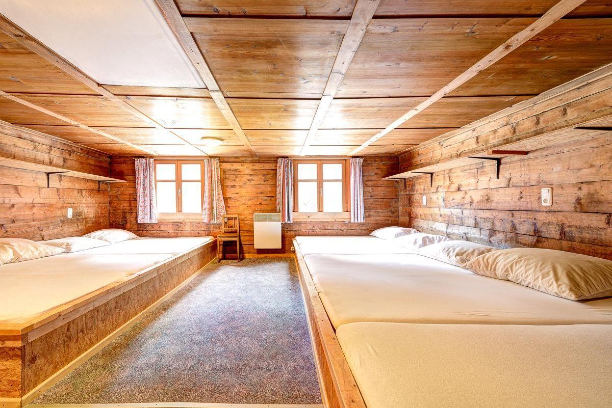 Matratzenlager hütte  Pfefferhütte