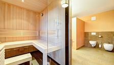 Apartment, shower, toilet, sauna