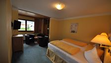 Double room, shower or bath, toilet, 1 bed room