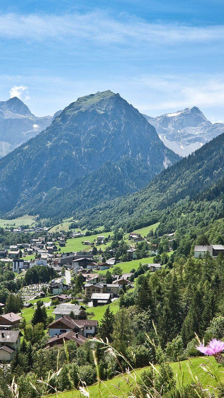 Vorarlberg Karte Berge.Willkommen Im Brandnertal