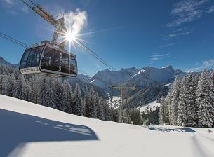 Cable Cars in the in Alpenregion Vorarlberg