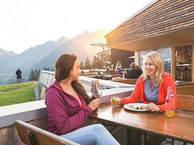 Gastronomy on the Mountain in Brandnertal