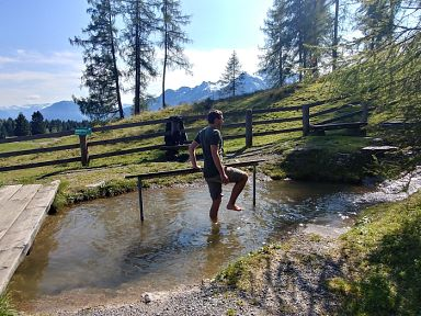 Kneippen in Brandnertal