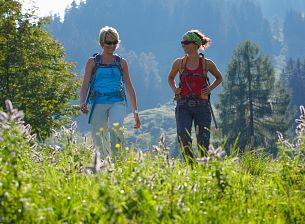 Hiking Routes in Brandnertal