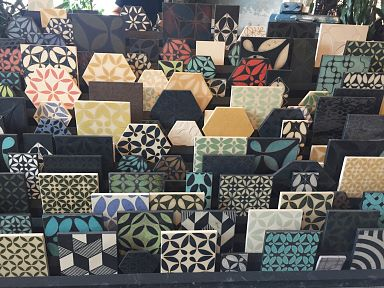 A visit to the tile factory