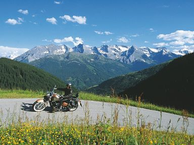 Motorcycling in Klostertal