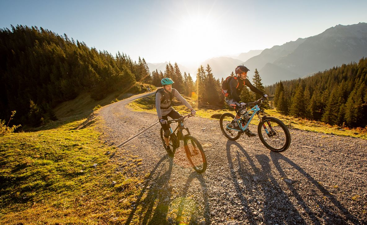 Clear the stage for mountain bikers