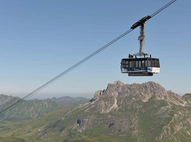 Arlberg Summer Cable Cars