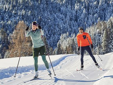 Cross-country skiing in Brandnertal