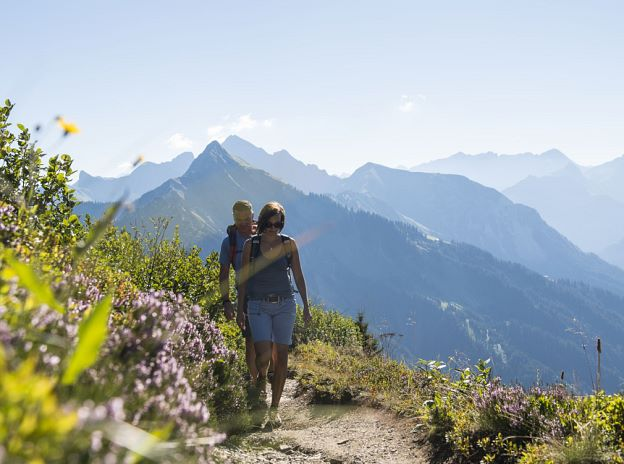 Summer activities in the Biosphere Reserve Großes Walsertal