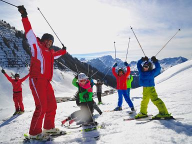 Ski Lessons & Child Care in the Biosphere Reserve Großes Walsertal