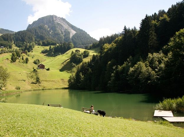 Angeling and Fly Fishing in Großes Walsertal