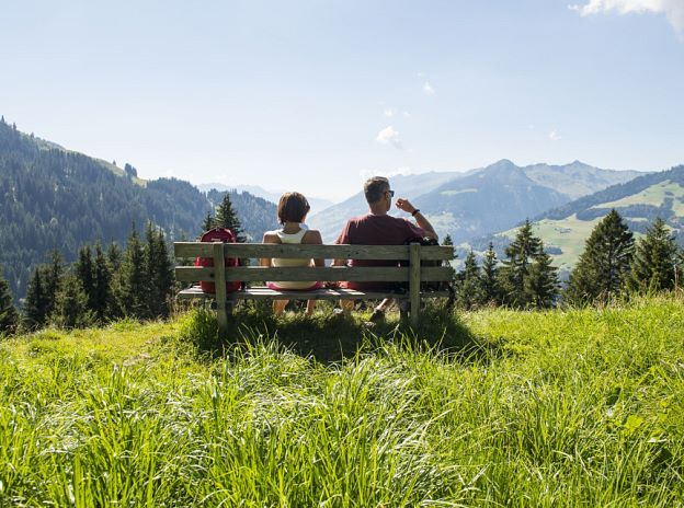 Relaxation in the Biosphere Reserve Großes Walsertal