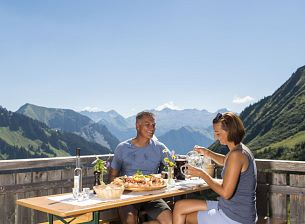 Gastronomy on the mountain