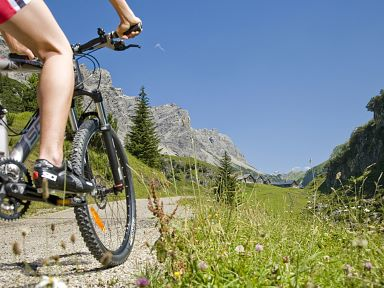 Mountain Biking in the Biosphere Reserve Großes Walsertal