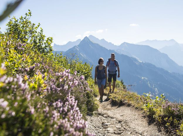 Hiking World Biosphere Reserve Großes Walsertal
