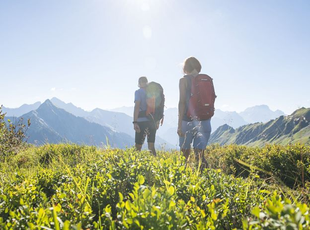 Hiking in the Alpenregion Vorarlberg